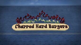Charred Hard Burgers - exterior logo
