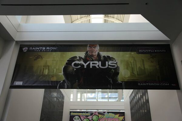 Cyrus promotional banner