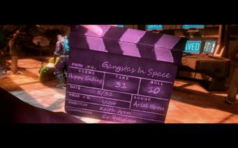 Gangstas in Space - happy ending clapper