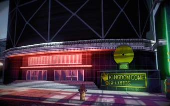 Kingdom Come Records exterior in Saints Row IV