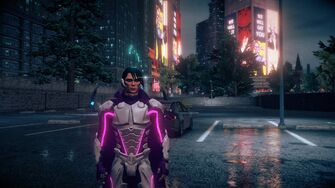 Matt Miller with Super Powers in Saints Row IV