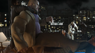 Oleg in the Saints Row The Third Power CG trailer