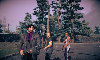 Playas from Saints Row, Saints Row 2, and Saints Row IV