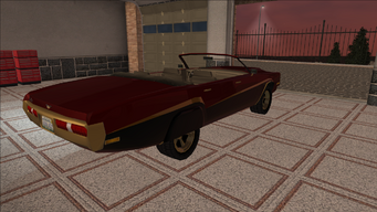 Saints Row variants - Cavallaro - LC09 - rear right