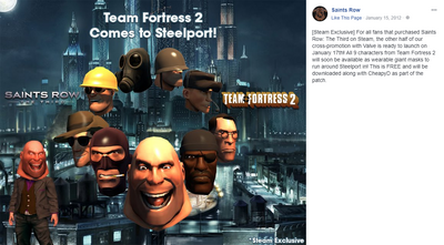 Team Fortress 2 Comes to Steelport