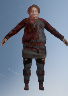 Zombie 04 - Sarah - character model in Saints Row IV