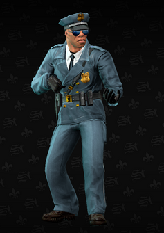 Cop - sniper - Mayweather - character model in Saints Row The Third