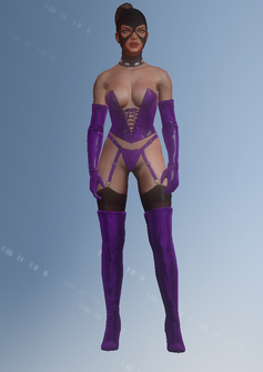Gang Customization - Gimp 2 - Roxy - in Saints Row IV