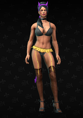Gang Customization - Stripper 3 - Linda - in Saints Row The Third