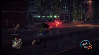 Genki super powers in Saints Row IV livestream