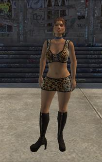 HO-02 - Ho - character model in Saints Row