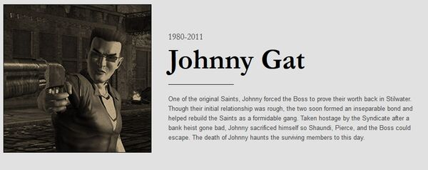 Johnny obituary with dates