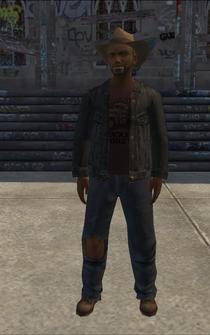 PoorTrash male - BlackTrash - character model in Saints Row