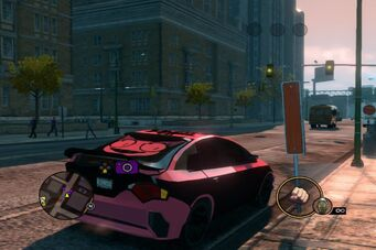 Solar - Genki variant - rear right in Saints Row The Third