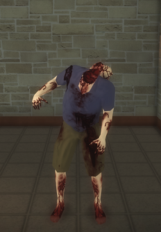 Zombie - male c - character model in Saints Row 2