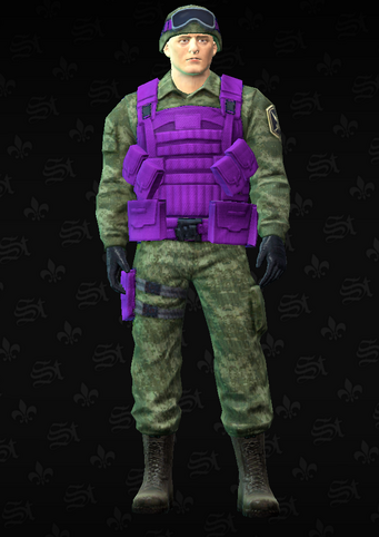 Gang Customization - Guardsmen 3 - Alejandro - in Saints Row The Third