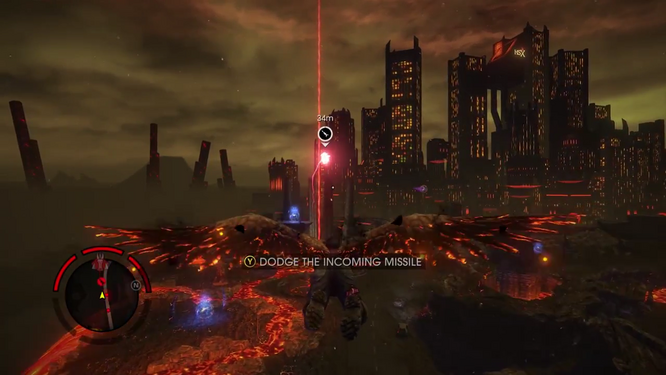 Gat out of Hell (Walkthrough video) 0409 Ability - Dodge the Incoming Missile