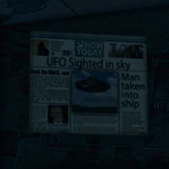 Kinzie's Warehouse - UFO newspaper newspaper