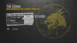 New Hennequet Rec Center - complete 10000 cash