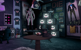 Nobody Loves Me - interior TV corner in Saints Row The Third