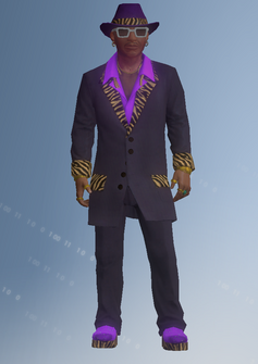 Zimos - character model in Saints Row IV