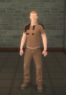 Broken NPC 1 - character model in Saints Row 2