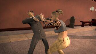 Brotherhood Fighting Style - Three Headbutts third