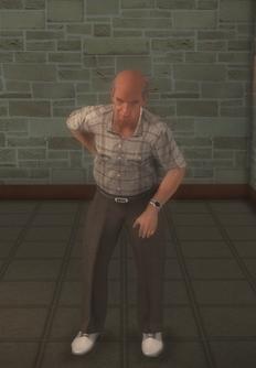 Elderly male - elderly white male - character model in Saints Row 2