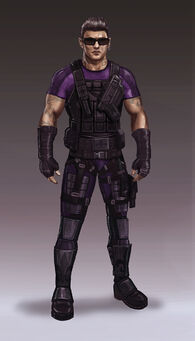 Johnny Gat Concept Art - Super Homie - purple shirt and dark armour