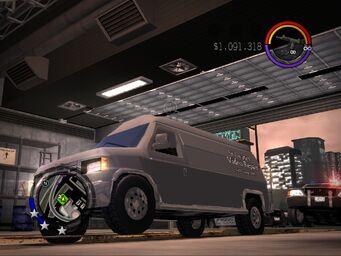 NRG-V8 - Repair Van variant - front left
