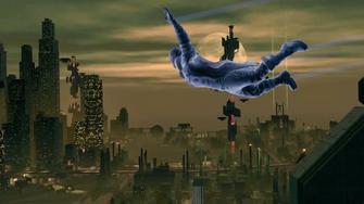 Saints Row IV Announce Teaser - flying - 3 count