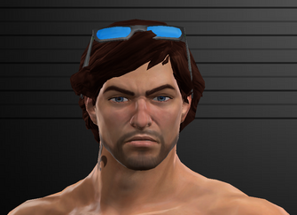 Saints Row The Third Default Playa - WM face