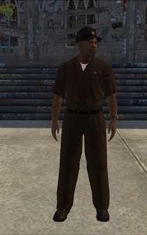 UPS - blackUPS - character model in Saints Row