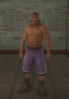 Arena fighter - black - character model in Saints Row 2