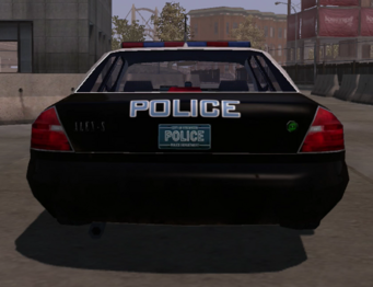 Five-O - rear in Saints Row
