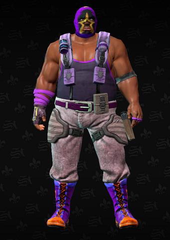 Gang Customization - Luchador 3 - Alonzo - in Saints Row The Third