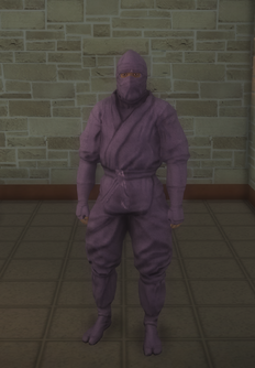 Gang Customization - Ninjas - male soldier 2 - black