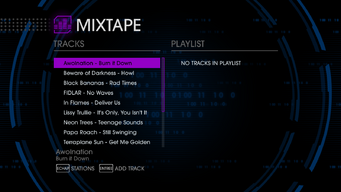 GenX 89 tracks in Saints Row IV - first 9 tracks