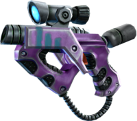 SRIV SMGs - Alien SMG - Xenoblaster - Saints Purple