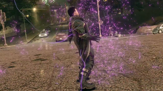 Saints Row IV Announce Teaser - power-up