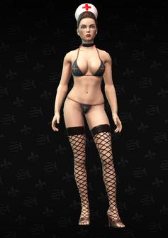 Stripper05 - Angie - character model in Saints Row The Third