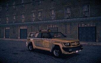 Taxi - front right in Saints Row IV