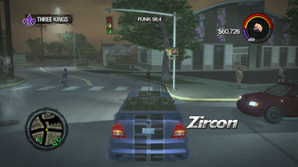 Zircon - with decal - rear in Saints Row 2