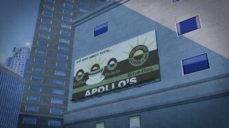 Apollo's - Billboard in Filmore