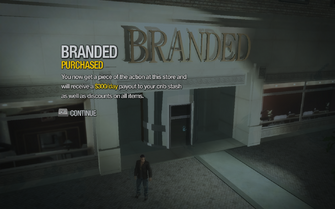 Branded in Filmore purchased in Saints Row 2