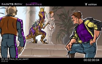 Escape the Dominatrix - Donnie, Velociraptor, Shaundi, and Playa