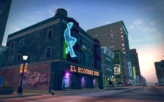 Ezpata in Saints Row 2 - El Hombre bar