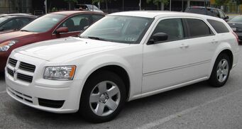 Hammer - 2008 Dodge Magnum SE in real life