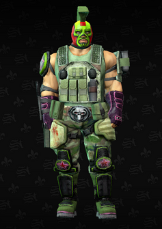 Luchador Specialist - grenadier - El Jose - character model in Saints Row The Third