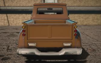 Saints Row IV variants - Betsy Classic - rear
